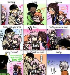 FXIII Love Meme by HazuraSinner