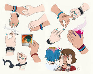 Pricefield hands study by HazuraSinner