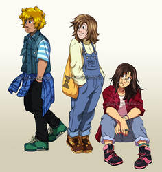 Late 90s Fashion by HazuraSinner