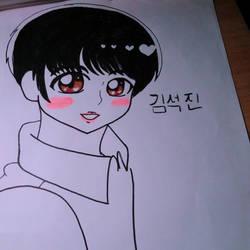 .:* BTS: Jin *:. by candydandylover