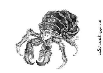 hermit crab by vasodelirium