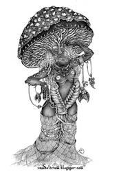 Mushroom tribe by vasodelirium