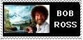 bob ross stamp by vasodelirium