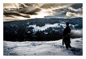 Winter Skyline by Kamik636