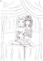 Moriko and Aki by Enolla