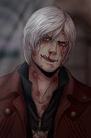 Haunted!Dante by NoahAsai