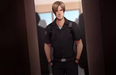Leon cop by NoahAsai