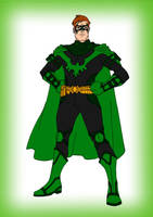 Request~The Green Defender by Comicbookguy54321