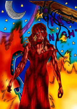 Carrie~The Destruction by Comicbookguy54321