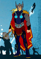 Thor Redesign by Comicbookguy54321