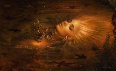 Ophelia's Fall by Pendragon-Arts