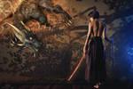 The Dragon by Pendragon-Arts