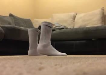 White Nike Socks Video by JayHawk303