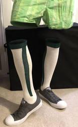 Baseball Socks and Converse by JayHawk303