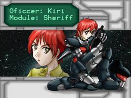 Cyber Knight Kiri Wallpaper 2 by Cecihoney