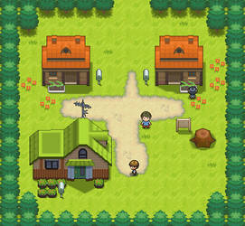Littleroot Town remake by Mucrush