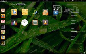 Gnome 3 in Linux Mint-7 by malvescardoso