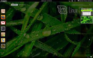 Gnome 3 in Linux Mint-5 by malvescardoso