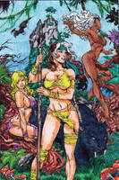 For GlauberMatos and Ed Benes by Yaoi-Huntress-Earth