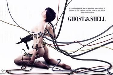 Motoko Kusanagi - Ghost in the shell by DannyBocabit
