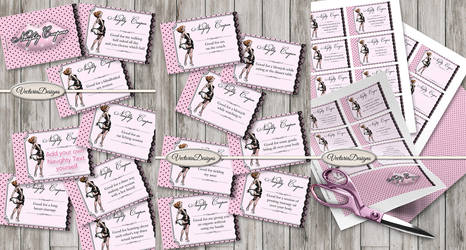 Printable Naughty Coupon Book by VectoriaDesigns