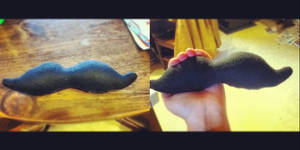 Mustache for WaterFlavor by Nanby