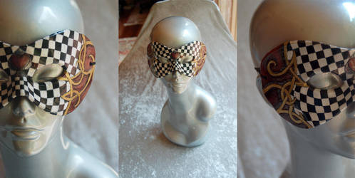 Queen of Hearts Mask by StephanieReeves