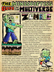 The Minecrafter's Guide to the Multiverse: Zombie by jasonWeek