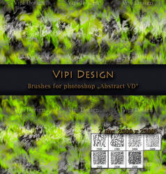 Brushes for photoshop - Abstract VD by elixa-geg