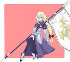Joan of arc by macarooooon