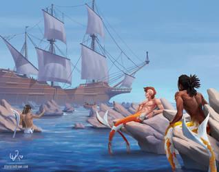 Sons of Sirenum by stevie-rae-drawn