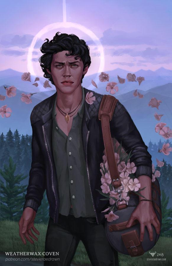 Patreon reward: Return painting + story by stevie-rae-drawn