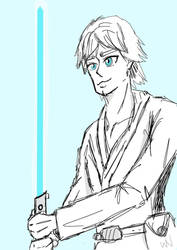 Luke Skywalker  by synthdetectiveahole