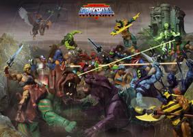 MOTU - Grayskull Con Poster by McMuth