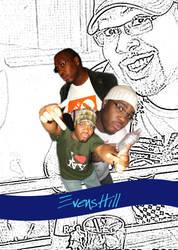 Evens Hill Bday Flyer by azngunit81