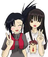 Konoka And Setsuna by NativeOtaku