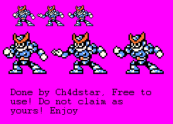Freeze Man's Missing Taunt sprite for RM7FC by Ch4dStar