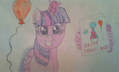 Happy Birthday, Andy! From Twilight and Me! by Dracorider19