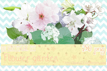 Pack 7 - Flower Garden - 30 png. by Keary23