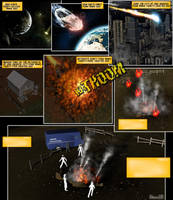 Saturn Comic Preview Page by Stone3D
