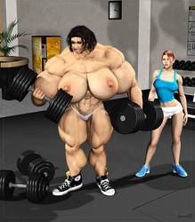 Gym Grow 1 by Stone3D