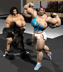 Gym Grow 3 by Stone3D