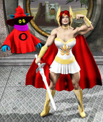 Halloween Naomi: She-Ra by Stone3D