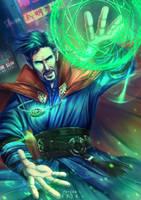 Doctor Strange by HitomiTQX