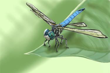 Dragonfly by LelandGreen