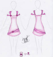 Trixxys Dress Design by Zaratulah