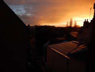coucher de soleil ... by Cedono