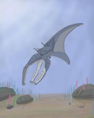 Quinctustripodes Titanus Alternate Colors by GarrettRS