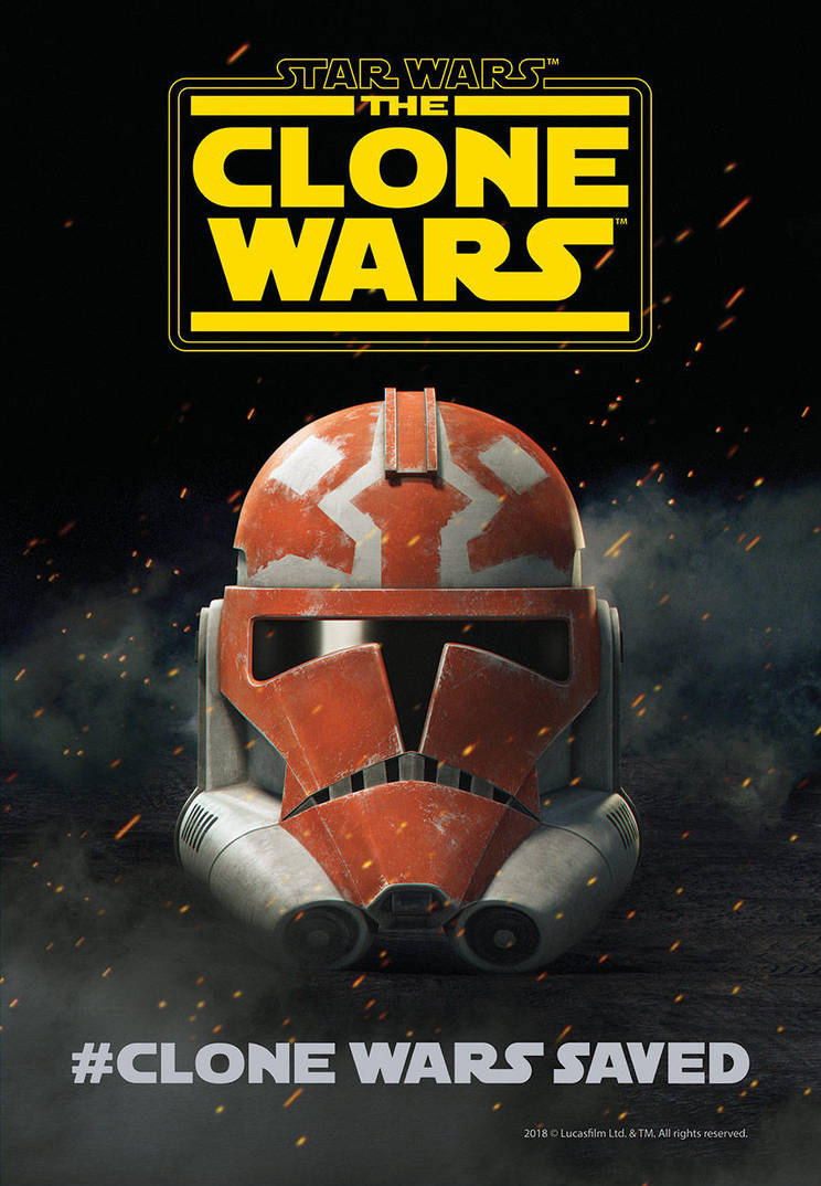 SDCC18-TCW-poster by GarrettRS