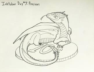 Inktober Day #9 Precious by GarrettRS